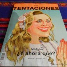 Coleccionismo de Periódico El País: EL PAÍS DE LAS TENTACIONES Nº 6. NOVIEMBRE 2015. MADONNA ¿Y AHORA QUÉ? MBE. . Lote 52344281