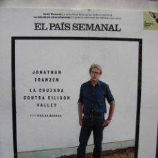 Coleccionismo de Periódico El País: EL PAIS SEMANAL 4 OCTUBRE 2015. JONATHAN FRANZEN, KEITH RICHARDS, ADICTO AL BLUES.. Lote 53589845
