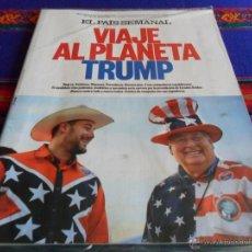 Coleccionismo de Periódico El País: EL PAÍS SEMANAL Nº 2048. 27-12-15. DONALD TRUMP SNOOPY PEANUTS STAR WARS. PRECINTADO.. Lote 53678656