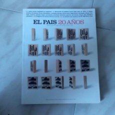 Coleccionismo de Periódico El País: EL PAÍS 20 AÑOS. ESPECIAL. UN TOMO. MUY BUEN ESTADO.. Lote 54057090