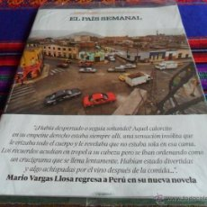 Coleccionismo de Periódico El País: EL PAÍS SEMANAL Nº 2056. 21-2-16 MARIO VARGAS LLOSA PERÚ GOLPE ESTADO 23F SUPLEMENTO LEGO PRECINTADO. Lote 54673082