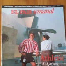 Coleccionismo de Periódico El País: EL PAÍS SEMANAL. 100 AÑOS DE LEYENDA DEL ATHLETIC DE BILBAO. 12 DE ABRIL DE 1998.. Lote 54858338