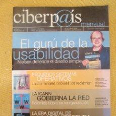 Coleccionismo de Periódico El País: CIBERP@IS Nº25 AÑO 2002. Lote 56011563