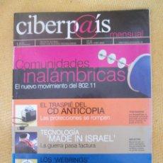 Coleccionismo de Periódico El País: CIBERP@IS Nº22 AÑO 2002. Lote 56080955
