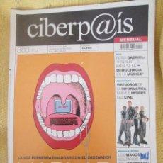 Coleccionismo de Periódico El País: CIBERP@IS Nº10 AÑO 2001. Lote 56081551