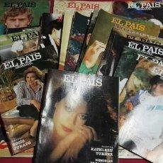 Lote de 23 revistas de el pais semanal . Años 80
