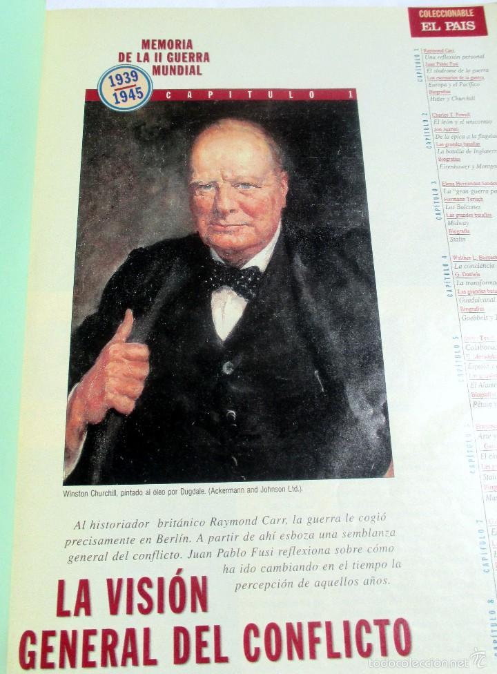 MEMORIA DE LA II GUERRA MUNDIAL 1936/1945 EL PAIS (Coleccionismo - Revistas y Periódicos Modernos (a partir de 1.940) - Periódico El Páis)