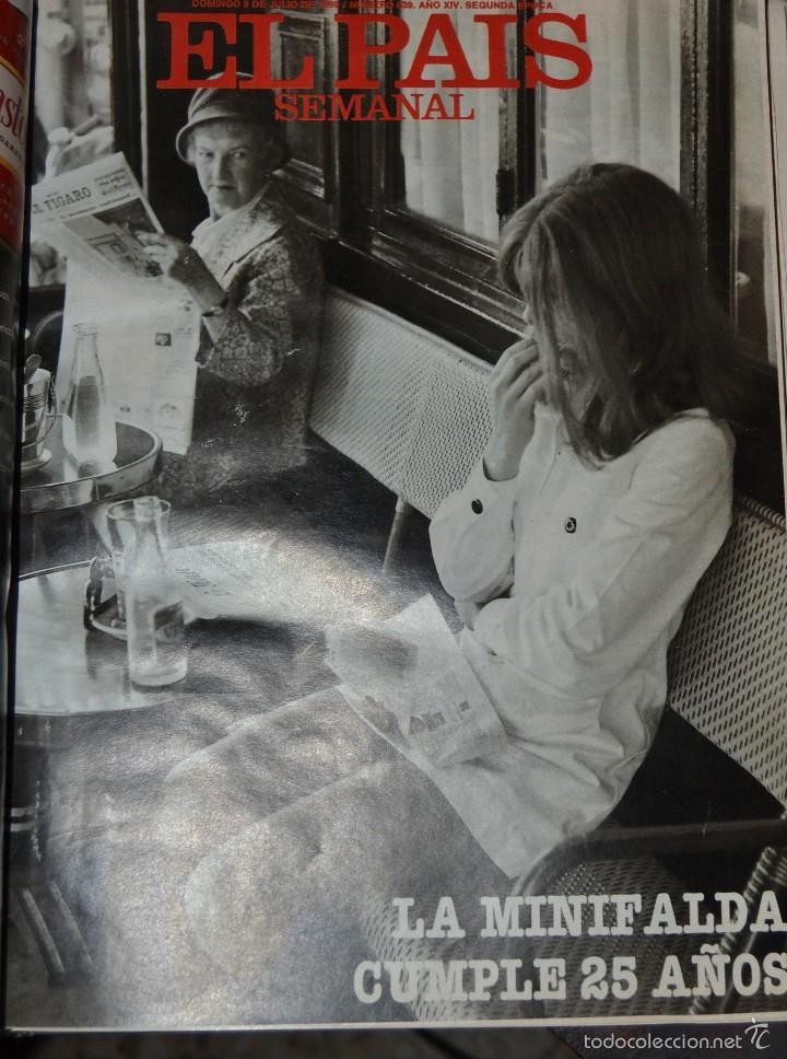 Coleccionismo de Periódico El País: 1 TOMO ENCUADERNADO DOMINICAL DIARIO EL PAIS Nº 638 A 650 AÑO 02-07 A 24-09 DEL AÑO 1989.12 NUMEROS - Foto 8 - 58540575