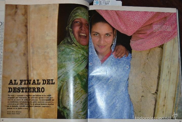 Coleccionismo de Periódico El País: 1 TOMO ENCUADERNADO DOMINICAL DIARIO EL PAIS Nº 638 A 650 AÑO 02-07 A 24-09 DEL AÑO 1989.12 NUMEROS - Foto 13 - 58540575