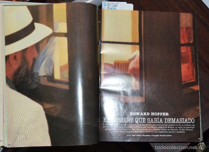 Coleccionismo de Periódico El País: 1 TOMO ENCUADERNADO DOMINICAL DIARIO EL PAIS Nº 638 A 650 AÑO 02-07 A 24-09 DEL AÑO 1989.12 NUMEROS - Foto 15 - 58540575