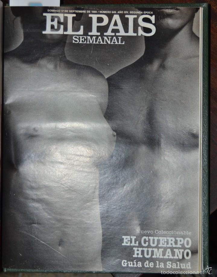 Coleccionismo de Periódico El País: 1 TOMO ENCUADERNADO DOMINICAL DIARIO EL PAIS Nº 638 A 650 AÑO 02-07 A 24-09 DEL AÑO 1989.12 NUMEROS - Foto 21 - 58540575