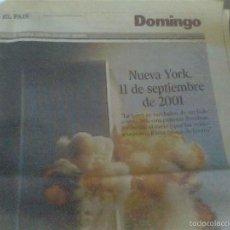 Coleccionismo de Periódico El País: SUPLEMENTO DOMINICAL DE EL PAÍS DEL 11 DE SEPTIEMBRE DE 2001. Lote 59197045