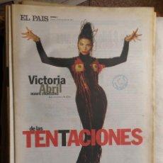 Coleccionismo de Periódico El País: EL PAIS DE LAS TENTACIONES. COLECCIÓN DE 23 NUMEROS AÑOS 1993-2000. Lote 122049650