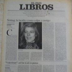 Coleccionismo de Periódico El País: LIBROS. SUPLEMENTO EL PAÍS. AÑO II Nº 55. 1980. Lote 60919635