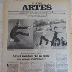 Coleccionismo de Periódico El País: ARTES. SUPLEMENTO EL PAÍS. AÑO II Nº 10. 1980. Lote 60951051