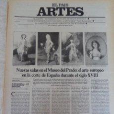 Coleccionismo de Periódico El País: ARTES. SUPLEMENTO EL PAÍS. AÑO II Nº 15. 1980. Lote 60951267
