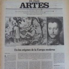 Coleccionismo de Periódico El País: ARTES. SUPLEMENTO EL PAÍS. AÑO II Nº 18. 1980. Lote 60951475