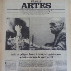 Coleccionismo de Periódico El País: ARTES. SUPLEMENTO EL PAÍS. AÑO II Nº 20. 1980. Lote 60951591
