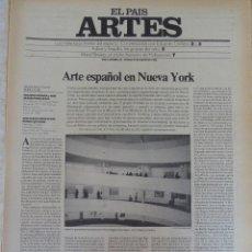 Coleccionismo de Periódico El País: ARTES. SUPLEMENTO EL PAÍS. AÑO II Nº 22. 1980 (VER OTROS NÚMEROS). Lote 60951699