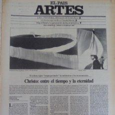 Coleccionismo de Periódico El País: ARTES. SUPLEMENTO EL PAÍS. AÑO II Nº 24. 1980. Lote 60951775