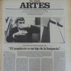 Coleccionismo de Periódico El País: ARTES. SUPLEMENTO EL PAÍS. AÑO II Nº 27. 1980. Lote 60951939