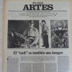 Coleccionismo de Periódico El País: ARTES. SUPLEMENTO EL PAÍS. AÑO II Nº 28. 1980. Lote 60952727