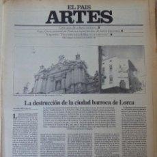 Coleccionismo de Periódico El País: ARTES. SUPLEMENTO EL PAÍS. AÑO II Nº 35. 1980. Lote 60953195