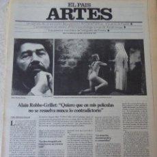 Coleccionismo de Periódico El País: ARTES. SUPLEMENTO EL PAÍS. AÑO II Nº 36. 1980. Lote 60953243