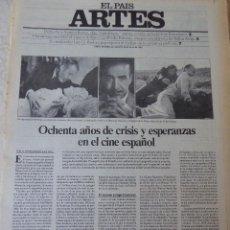 Coleccionismo de Periódico El País: ARTES. SUPLEMENTO EL PAÍS. AÑO II Nº 38. 1980. Lote 60953311