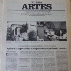 Coleccionismo de Periódico El País: ARTES. SUPLEMENTO EL PAÍS. AÑO II Nº 39. 1980. Lote 60953407