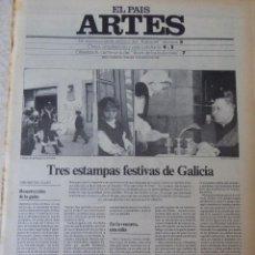 Coleccionismo de Periódico El País: ARTES. SUPLEMENTO EL PAÍS. AÑO II Nº 41. 1980. Lote 60953487