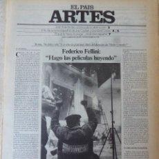 Coleccionismo de Periódico El País: ARTES. SUPLEMENTO EL PAÍS. AÑO II Nº 54. 1980. Lote 60953767