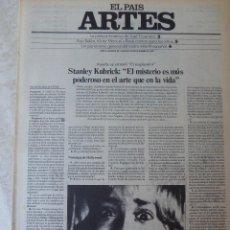 Coleccionismo de Periódico El País: ARTES. SUPLEMENTO EL PAÍS. AÑO II Nº 59. 1980. Lote 60953907