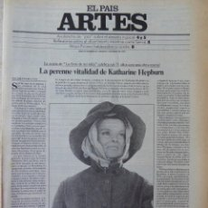 Coleccionismo de Periódico El País: ARTES. SUPLEMENTO EL PAÍS. AÑO III Nº 63. 1981. Lote 60954163