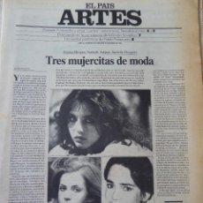 Coleccionismo de Periódico El País: ARTES. SUPLEMENTO EL PAÍS. AÑO III Nº 65. 1981. Lote 60954231