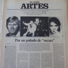 Coleccionismo de Periódico El País: ARTES. SUPLEMENTO EL PAÍS. AÑO III Nº 68. 1981. Lote 60954295
