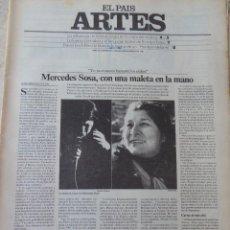 Coleccionismo de Periódico El País: ARTES. SUPLEMENTO EL PAÍS. AÑO III Nº 69. 1981. Lote 60954311