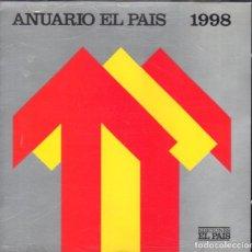 Coleccionismo de Periódico El País: EL PAIS ANUARIO 1998 CDROM. Lote 62146692