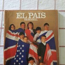 Coleccionismo de Periódico El País: REVISTA EL PAÍS SEMANAL 14 JUNIO 1987 LA AVENTURA DEL INGLÉS NÚMERO 531. Lote 63446262
