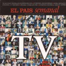 Coleccionismo de Periódico El País: TVE 40 ANIVERSARIO, EL PAÍS SEMANAL, Nº 1.048, 27 OCTUBRE 1996. Lote 64424127