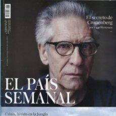 Coleccionismo de Periódico El País: EL PAIS SEMANAL EL SECRETO DE CRONENBERG 17/04/2016 Nº 2064. Lote 68890105