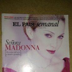 Coleccionismo de Periódico El País: SEÑORA MADONNA REVISTA EL PAIS SEMANAL. Lote 69416874