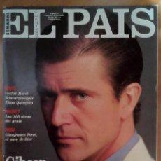 Coleccionismo de Periódico El País: EL PAIS SEMANAL Nº 41 DICIEMBRE 1991, MEL GIBSON, SCHWARZENEGGER, PICASSO, QUEREJETA, GENESIS.... Lote 71675443