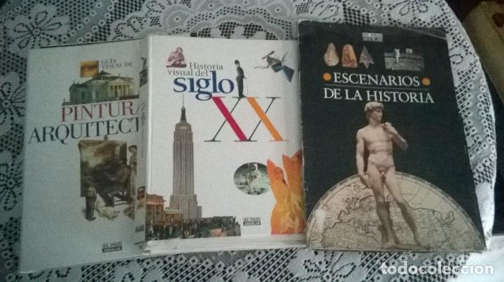 Coleccionismo de Periódico El País: Lote El País Escenarios de la Historia, Guía Visual Pintura y Arquitectura - Foto 2 - 71744387