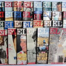 Coleccionismo de Periódico El País: EL PAÍS SEMANAL LOTE DE 38 NÚMEROS 1994 BUEN ESTADO. Lote 72131427