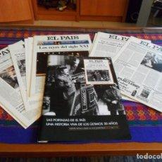 Coleccionismo de Periódico El País: LAS PORTADAS DE EL PAÍS LOTE 21 ITEMS MÁS DÍPTICO DE PRESENTACIÓN. AÑO 2006. MBE. REGALO Nº 10000.. Lote 72215643