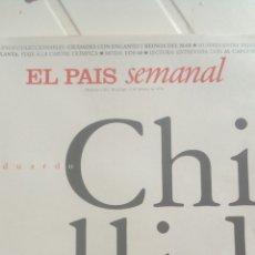 Coleccionismo de Periódico El País: REVISTA EL PAÍS SEMANAL CHILLIDA N'1011 AÑO 1996.. Lote 76854887