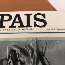 Coleccionismo de Periódico El País: ESPECIAL EL PAÍS NÚMERO 10000. Lote 77308379