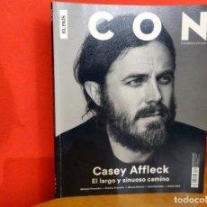 Coleccionismo de Periódico El País: REVISTA ICON Nº35 (ENERO 2017) - CASSEY AFFLECK. Lote 77505673