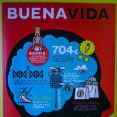 Coleccionismo de Periódico El País: BUENA VIDA - LA REVISTA DEL BIENESTAR DE EL PAÍS 21 DE MARZO 2016 HOMEOPATÍA NUTRICIÓN SALUD BARBIE. Lote 79555349